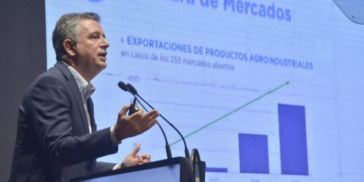 """Ministro Luis Miguel Etchevehere - Presentacion de """"Informe de Gestión 2016-2019"""" junto a su Gabinete (CCK) Fotos: Augusto Famulari / MAGYP"""